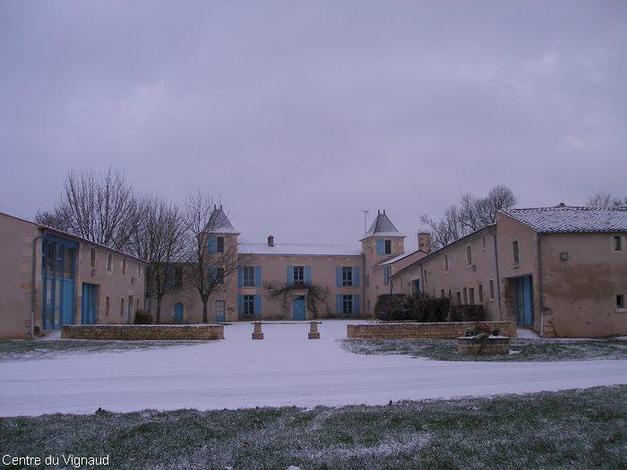 Le Vignaud sous la neige