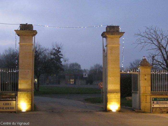 L'entrée du parc du Vignaud