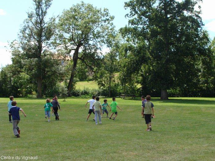 jeu dans le parc