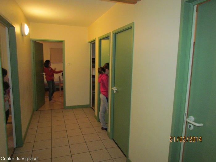 Dans les couloirs