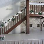 Décoration de l'escalier